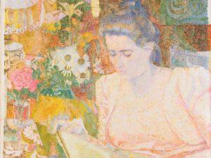 Marie Jeanette de Lange door Jan Toorop