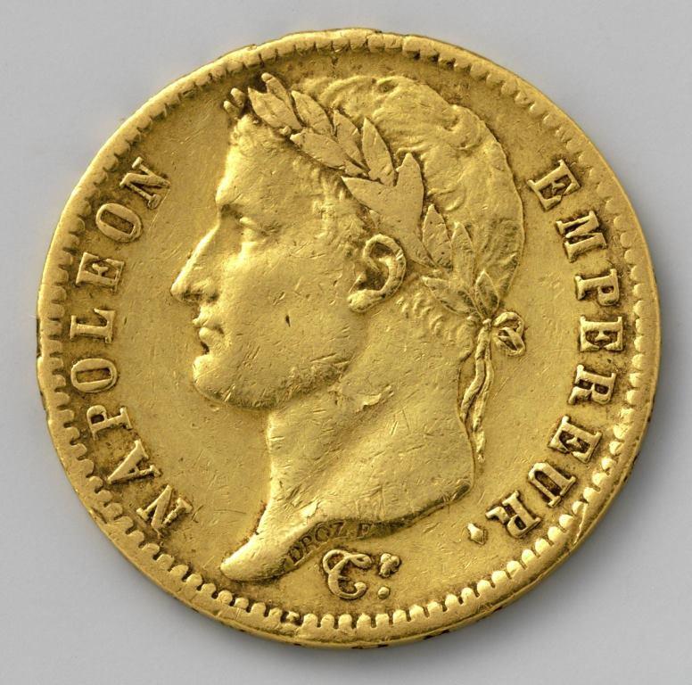 Nederlandse 20 francs - 1813 - Napoleon Rijksmuseum
