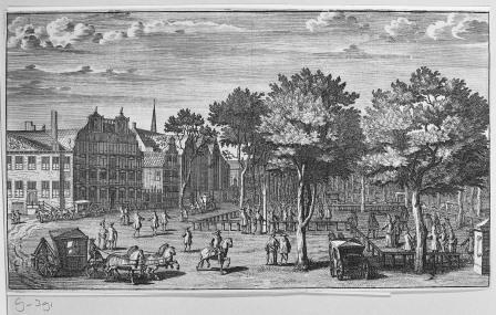 Lange Voorhout Den Haag - Collectie Rijksdienst Cultureel Erfgoed
