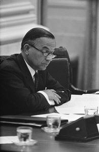Prime Minister Piet de Jong - collection National Archives