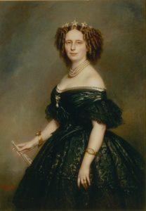 Koningin Sophie 1863 - Franz Winterhalter, - Koninklijke Verzamelingen DH