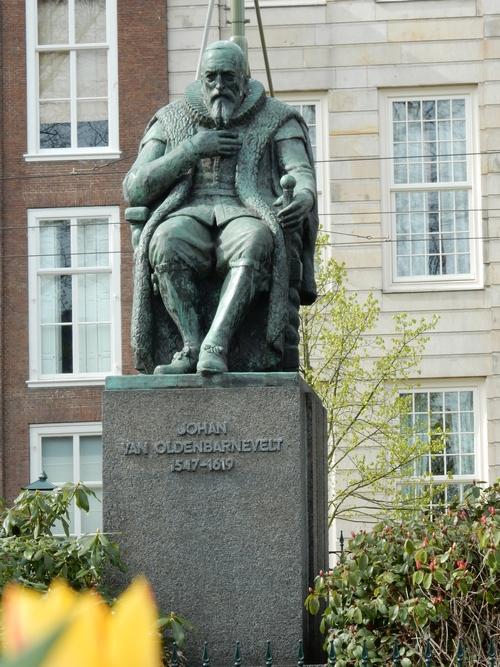 Standbeeld Johan van Oldenbarnevelt - Den Haag