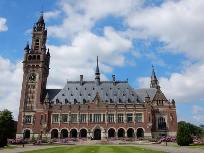 Den Haag Stad van Vrede en Recht