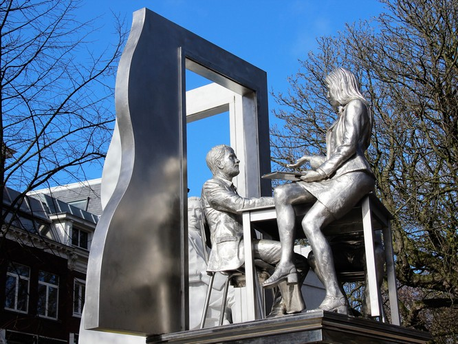 Thorbecke Monument Lange Voorhout