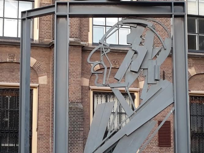 Willem Drees monument Buitenhof Den Haag