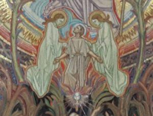 Het stralende sacrament - Kelk met hostie