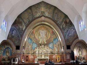 Gedenkmozaiek Antonius Abtkerk