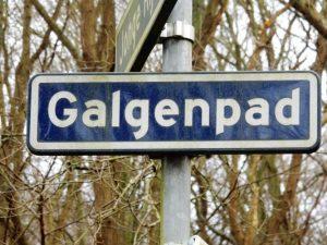 Scheveningse Bosjes - Galgenpad