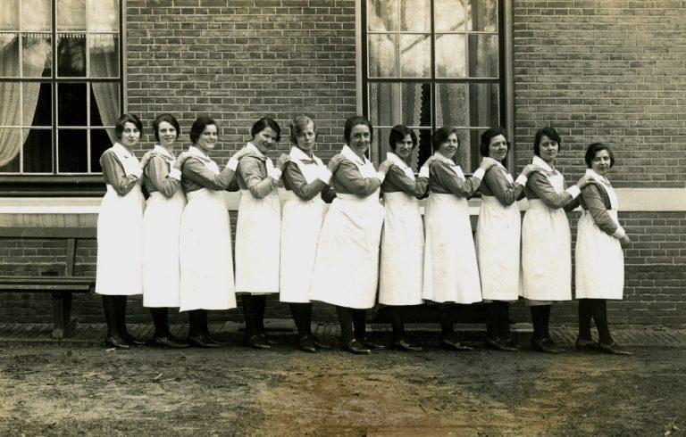 Verpleegsters in opleiding