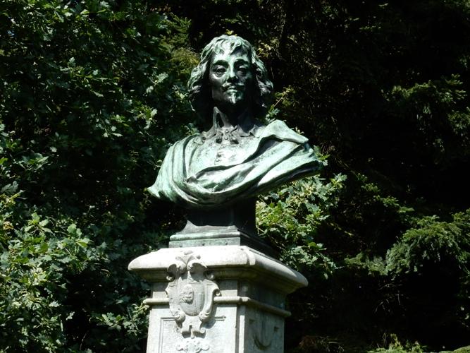 Borstbeeld Constantijn Huygens - Scheveningse weg